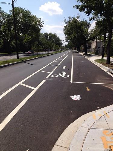 NHB Bike lane