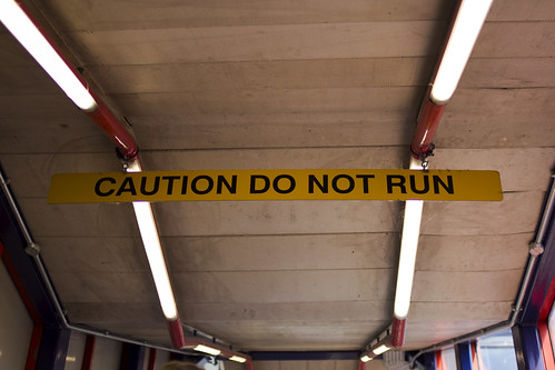 CAUTION DO NOT RUN