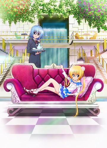 120801(3) - 漫畫家「畑健二郎」構思全新故事的新動畫《ハヤテのごとく! CAN'T TAKE MY EYES OFF YOU》將從10月開播!