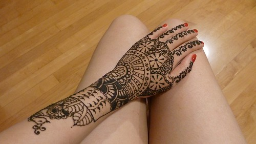 Mehndi Peacock Tattoos : Henna mehndi designs for hand feet arabic beginners kids girl