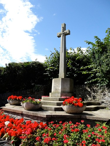 War Memorial Cross in Luss, Scotland