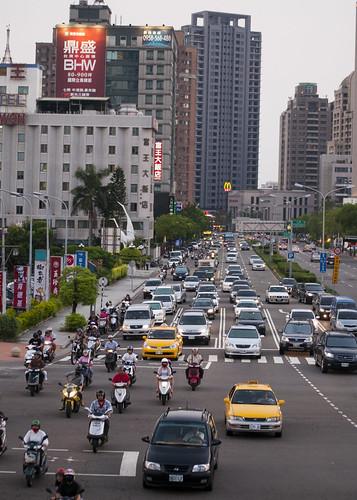 Taichung's Wen Xin Road