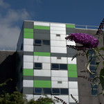 UCLan Media Building and Summer Colour - 3