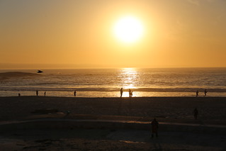 Image of Camps Bay Beach near Cape Town.