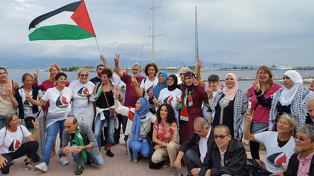 Women's Boat to Gaza in Messina
