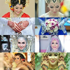The brides 💝 Indonesian traditional wedding brides photos. Wedding photos by @poetrafoto wedding photographer team.  For more wedding photos, please visit our:  web: http://wedding.poetrafoto.com fb: http://fb.com/poetrafoto ytb: http://youtube
