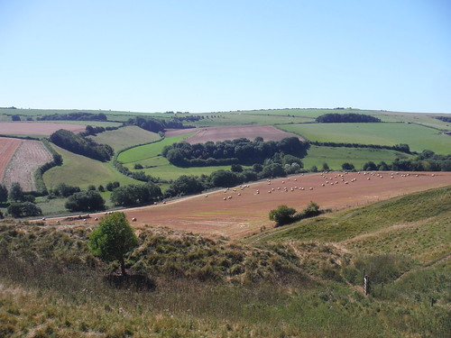 South Easterly View from Maiden Castle
