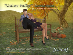"@ SOS Event - [CIRCA] - ""Nature Valley"" - Garden Bench PG - In Autumn"