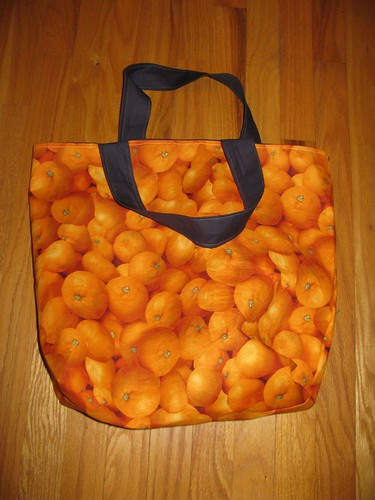 Orange Bag, Finished!