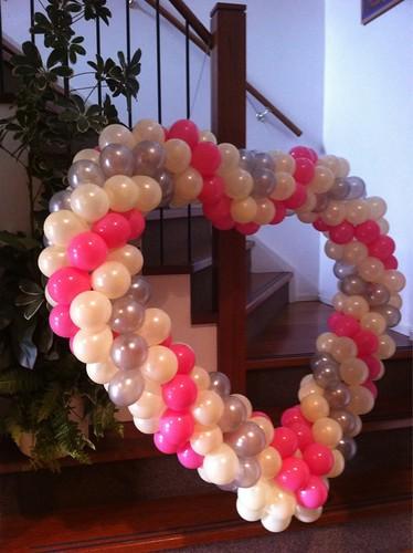 Ballonnenhart Flamingo Hoogvliet