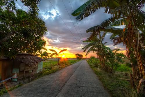 road sunset summer sun night canon cloudy farm philippines cavite hdr naic 3xp 550d calabarzon kissx4 djvillanueva