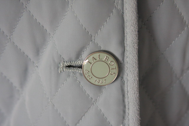 Talbot's button jacket detail