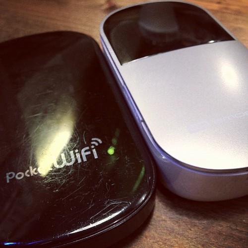 まぐにーとさいたくんのPocekt Wifi