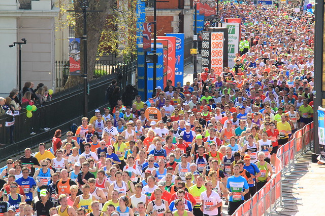 Virgin London Marathon 2012