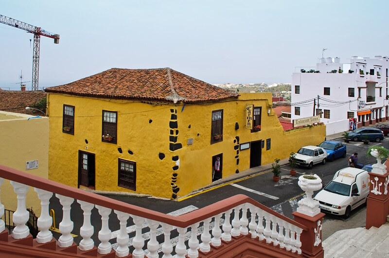 Icod de Los Vinos. Restaurant Carmen