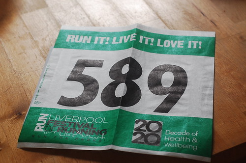 Running number for my next 10k :D