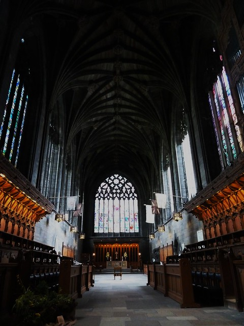 Interior of Paisley Abbey