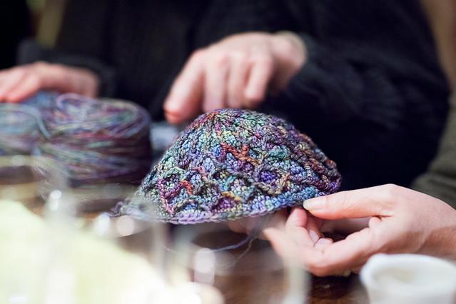 Un couvre-tout en tricot
