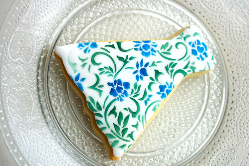 Peacock Dress Cookie