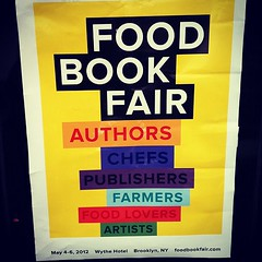 Food Book Fair Starts Today @danieldelaney