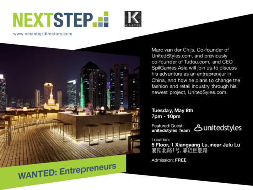 NextStep Tuesday May 8