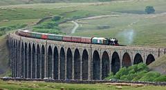 Diamond Jubilee Fellsman Crossing Ribblehead Viaduct