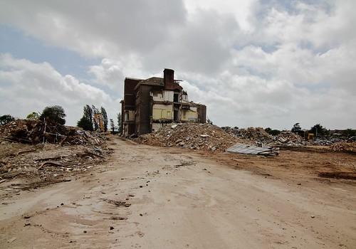 St Mary's Hospital, Portsmouth - Demolition