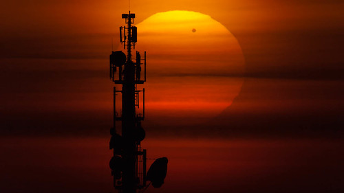Transit of Venus at Sunrise