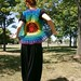 Transitional Rainbowlero - Bohemian Cotton Flower Summer Crochet Vest