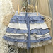 "Girl's Ruffled Skirt With ""Bustle"" Back Custom Made"
