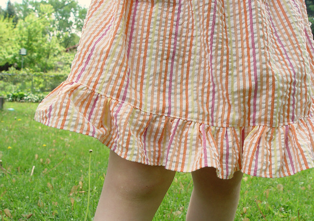 easy-peasy skirt with ruffle