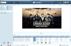 Cinema Sleep featured on FrostWire