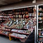 Un marché touristique à Saint-Petersbourg