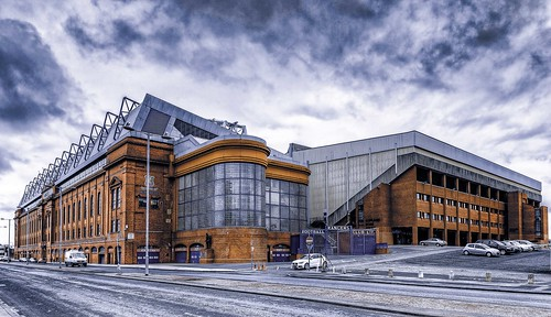 Ibrox Stadium - Home of the Rangers