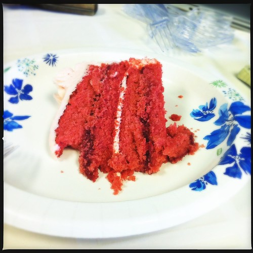 Strawberry cake from All-American Sweets, Memphis, Tenn.