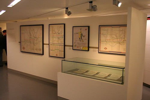 Maps display