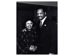 CGCC President Arnette Ward and Rev. Jesse Jackson