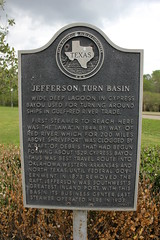 Photo of Jefferson Turn Basin and Lama black plaque
