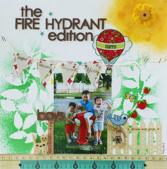 The fire hydrant edition