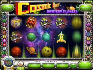 Cosmic Quest Episode Two Slot Machine