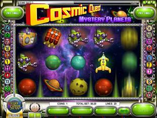 Cosmic Quest Episode Two Slot Machine