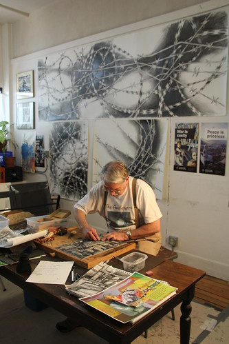 John Pitman Weber in his Chicago Studio