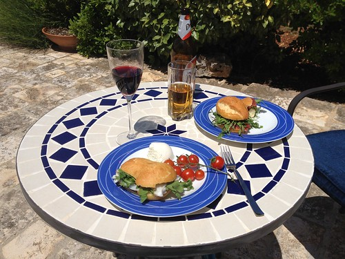 lunch at trullo azzurro
