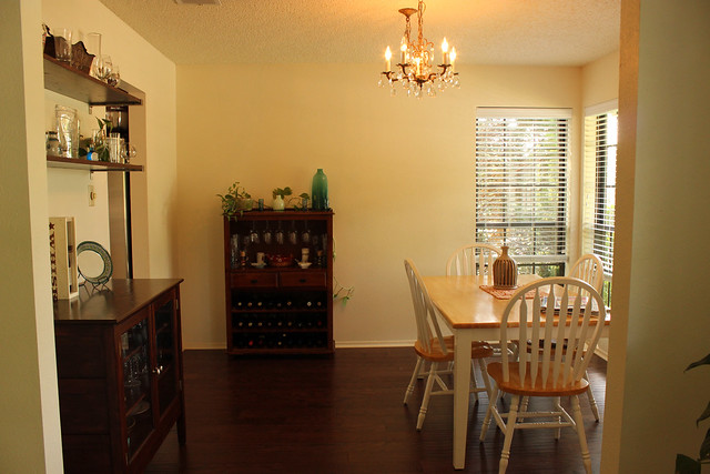 Dining room, view from sitting room