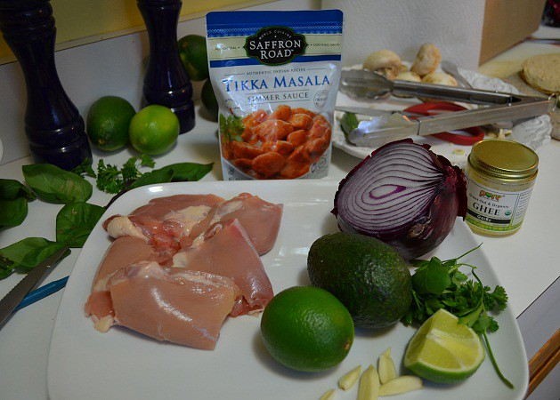 tikka masala tacos ingredients