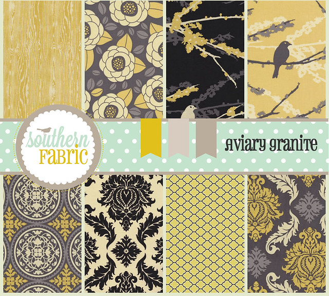 Aviary 2 for Friday's Fabric Giveaway!