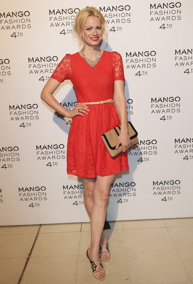 4. MANGO FASHION AWARDS 2012 im Nationalmuseum in Barcelona am 30.05.2012