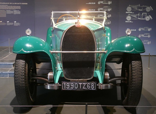 Bugatti Royale Roadster Armand Esders 1930 - 1990 green v