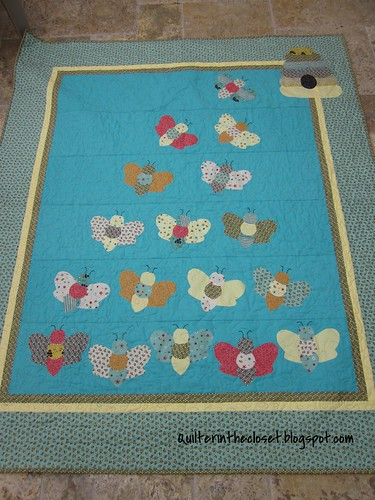 Bee Happy quilt