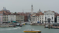 Views of Venice from a Departing Cruise Ship